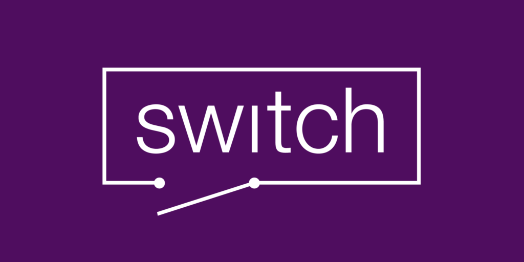 Logo for the Switch speaker scheme, inspired by circuit diagrams